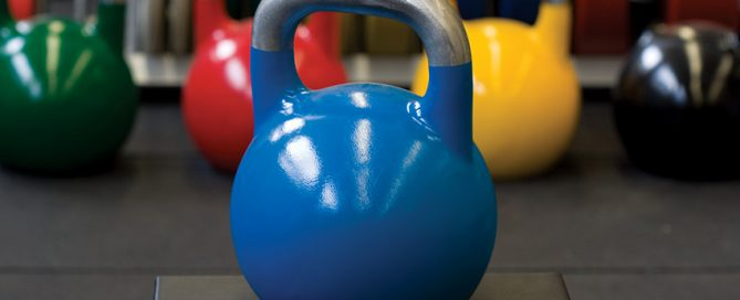 Kettle bell classes at CCSL