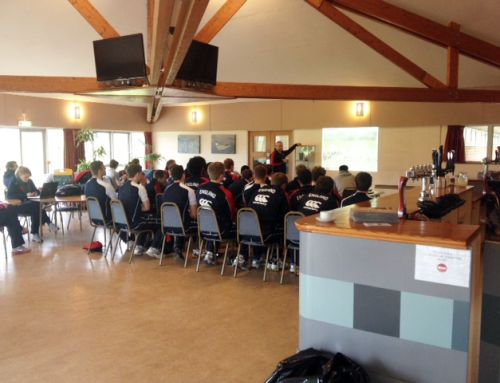 England U18 squad train at Beggars Bush Sports Ground
