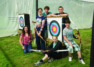 Archery courses in our activity centre