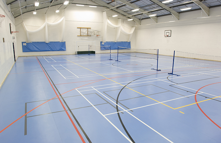 Badminton, Tennis and Squash courts available to hire