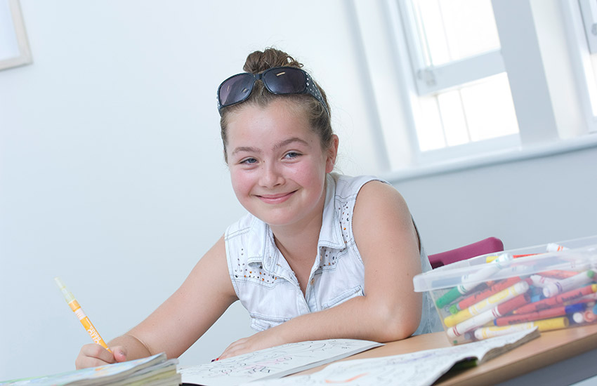 Our creative courses are designed for children to develop existing skills and learn some new ones