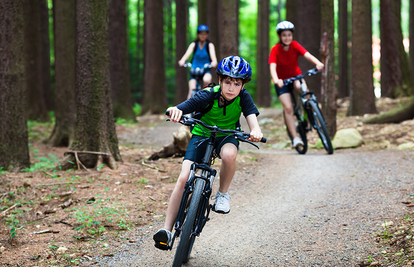 Mountain Biking activities available at Clifton College Sports Centre