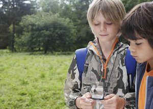 Activity centre Orienteering courses